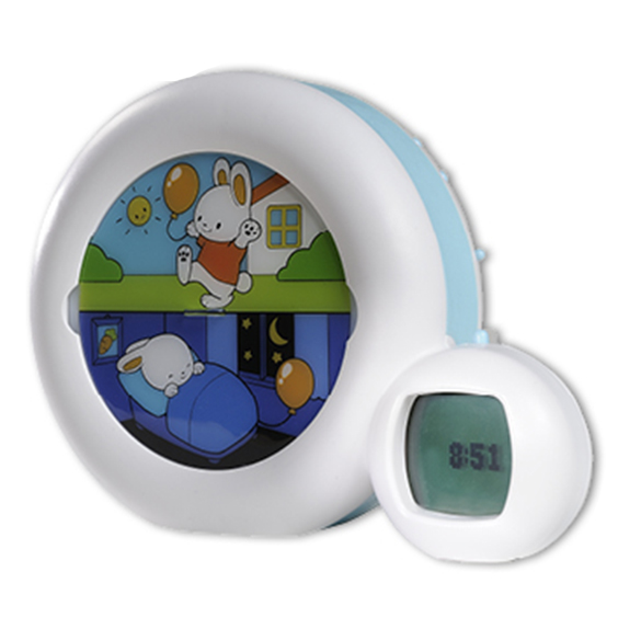 kid 39 sleep moon alarm clock night light claessens 39 kids