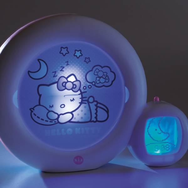 kid 39 sleep moon r veil et veilleuse hello kitty. Black Bedroom Furniture Sets. Home Design Ideas
